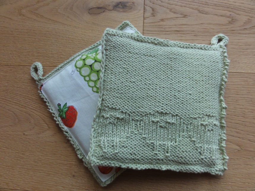 Sheep Potholders