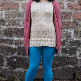 Knit Dress, Esther Socks