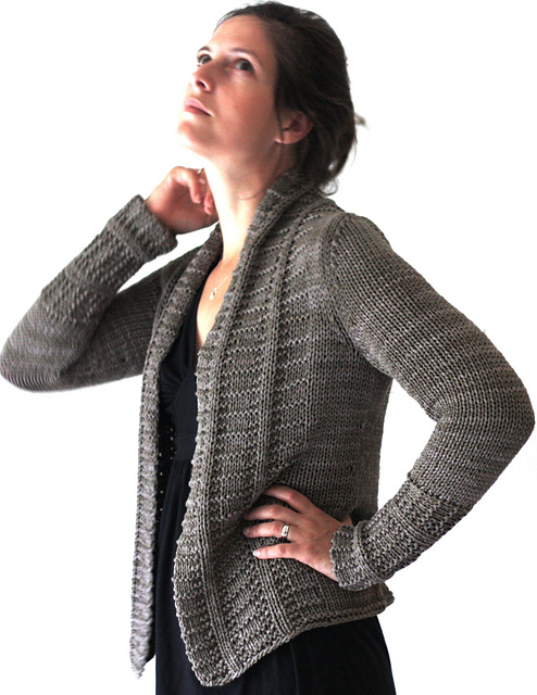 Longs Sands Cardigan by Amy Christoffers